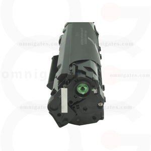 side view of black OGP Compatible HP CF283A Laser Toner Cartridge