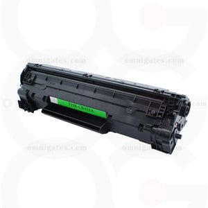 black OGP Remanufactured HP CB435A Laser Toner Cartridge