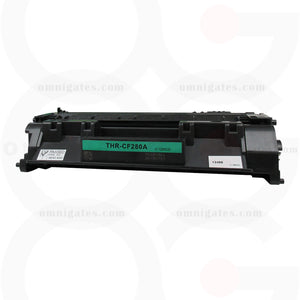 black OGP Remanufactured HP CF280A Laser Toner Cartridge