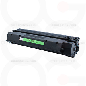 black OGP Remanufactured HP Q2613X Laser Toner Cartridge