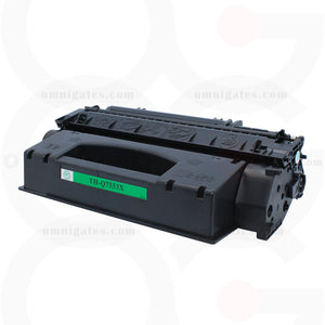 black OGP Remanufactured HP Q7553X Laser Toner Cartridge