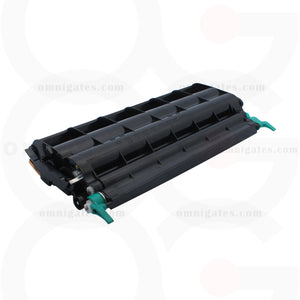 side view of black OGP Remanufactured Lexmark C5220KS Laser Toner Cartridge