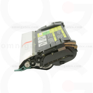 side view of yellow OGP Remanufactured Lexmark C5220YS Laser Toner Cartridge