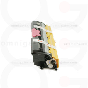 side view of magenta OGP Remanufactured Minolta A0V30CF (Q1600M) Laser Toner Cartridge