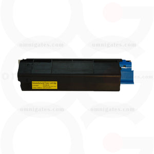 yellow OGP Remanufactured Okidata 42127401 Laser Toner Cartridge