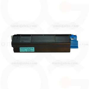 cyan OGP Remanufactured Okidata 42127403 Laser Toner Cartridge
