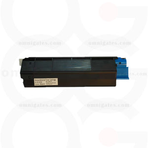black OGP Remanufactured Okidata 42127404 Laser Toner Cartridge