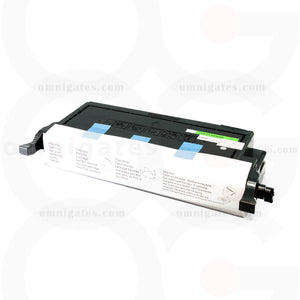 front view of cyan OGP Remanufactured Samsung CLPC660B Laser Toner Cartridge