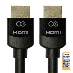 Certified Premium HDMI® Cable with Ethernet, 3ft, 3 Pack Bundle