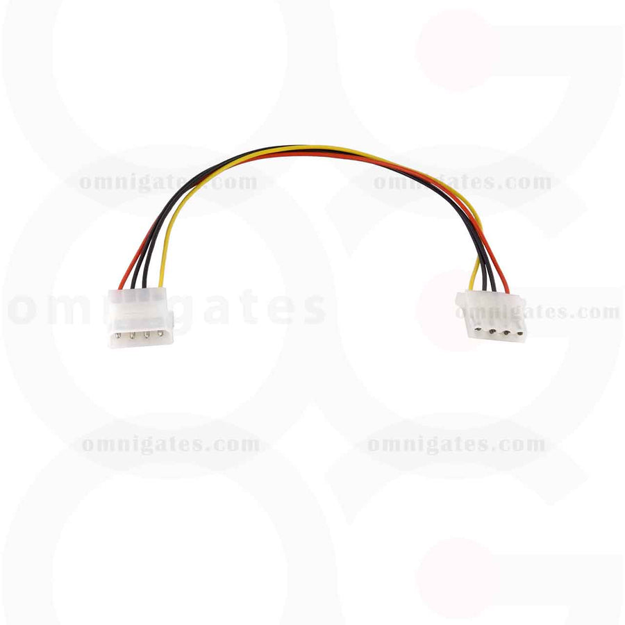 5.25 Male to 5.25 Female, Internal DC Adaptor Cable, 12 inches