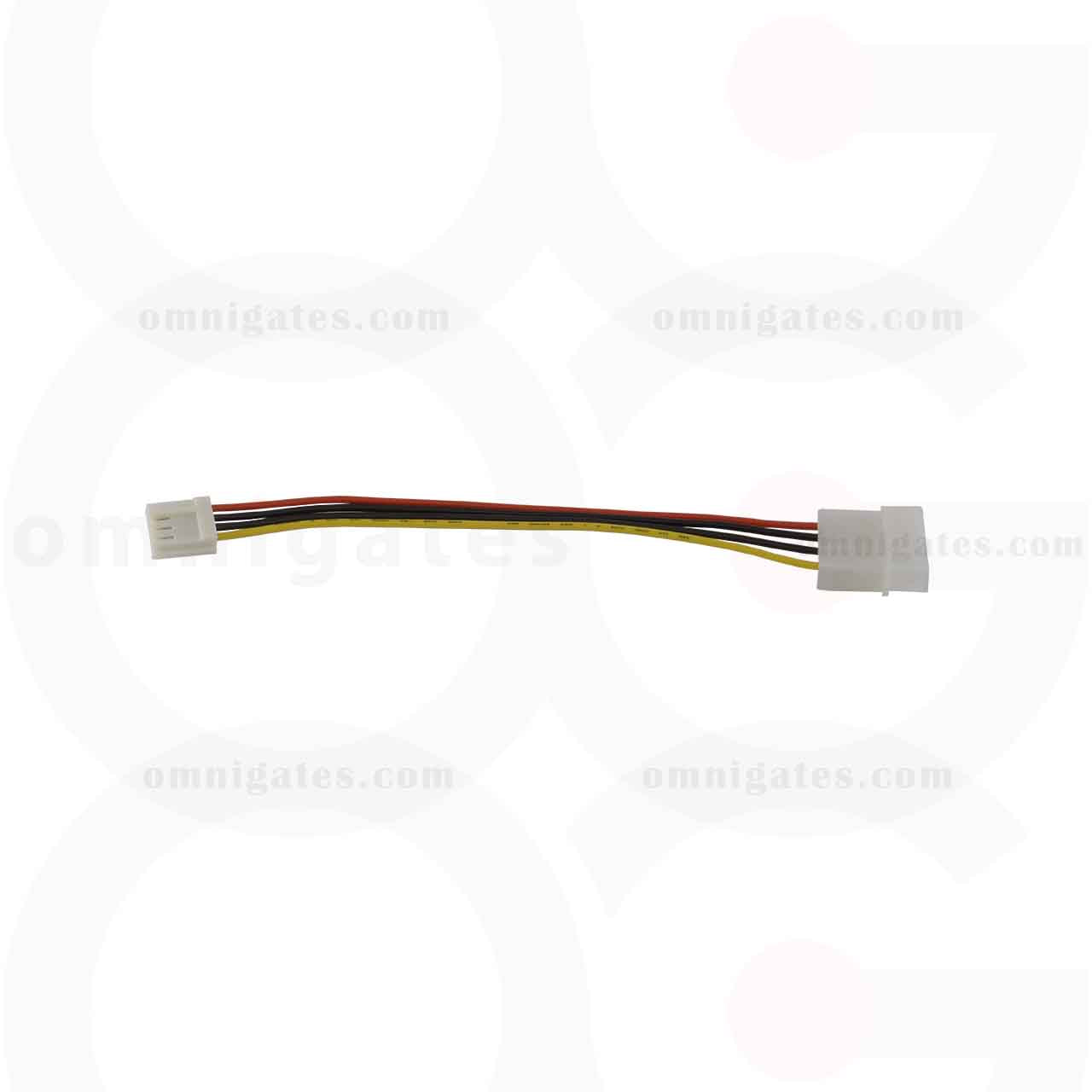 """Dc Power Cable Molex Connector 6/"""" Int 3.5 Female 5.25 Male //"""