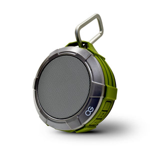 Omnigates Aeon Portable Bluetooth Speaker POD [Green / Gray]