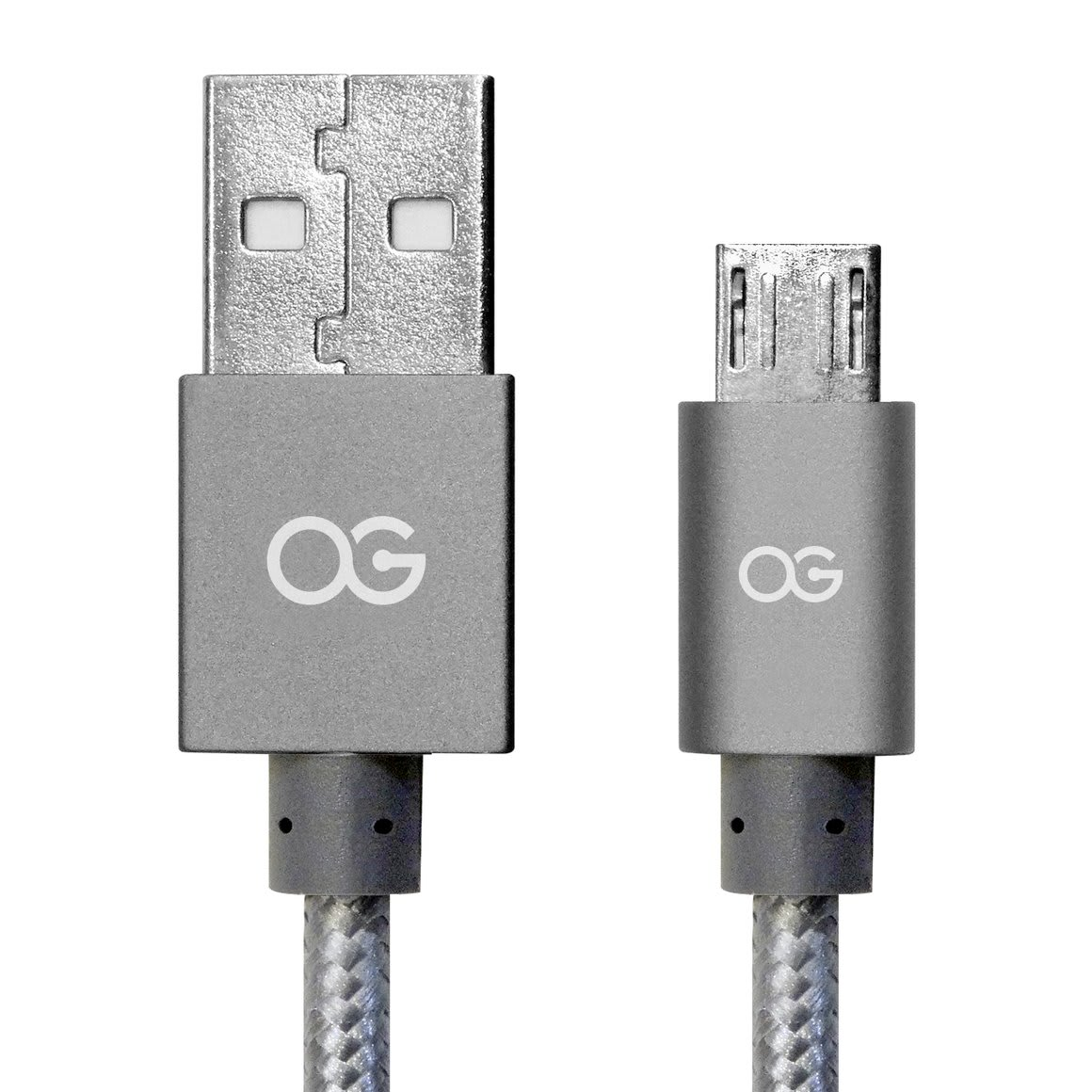 Premium High Speed USB A to Micro-5Pin Sync/Charging Cable Metallic