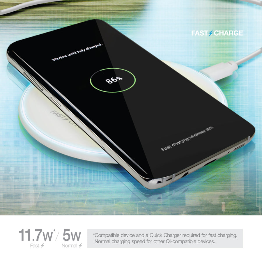Fast Crystal Wireless Charging Pad, v1