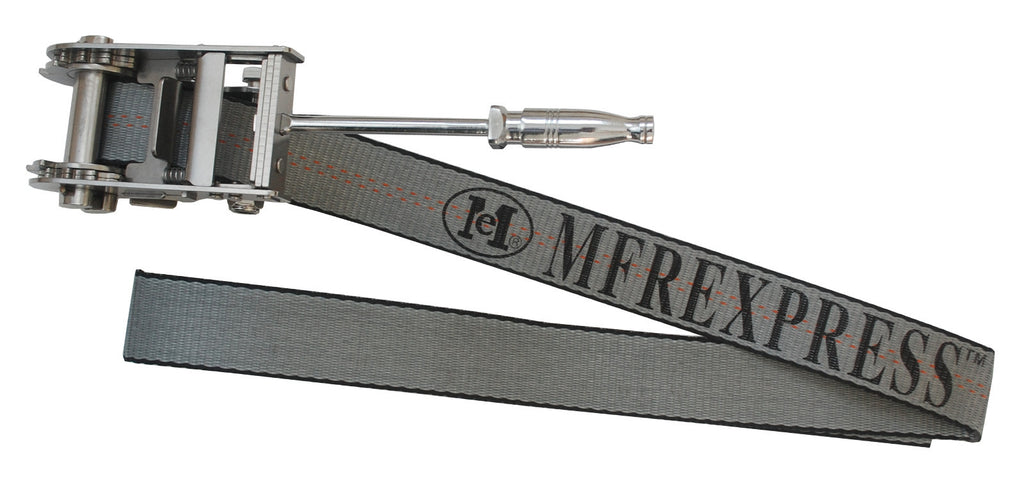 "2"" x 5' Stainless Steel Ratchet Under Lift with Removable Tool"