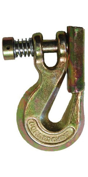 Clevis Grab Hook with Safety Latch Grade 70
