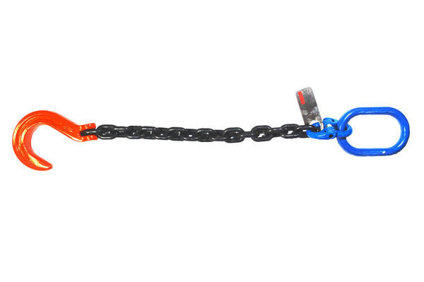 1/2''x 2'Grade 100 Recovery Chain with Foundry Hook and Master Link