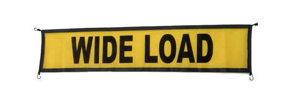 Wide Load Oversize Banner 18'' x 84''