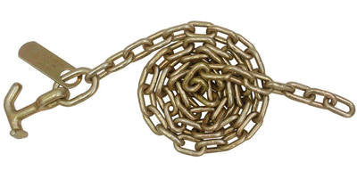 5/16'' x 6' Auto Transport Tow Chain with T-J Hook