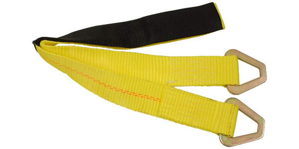 "2"" Axle Strap Tie-Down w/ Wear Pad"