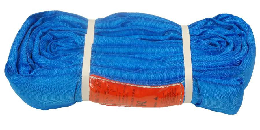 Blue Polyester Round Sling 23000 LBS