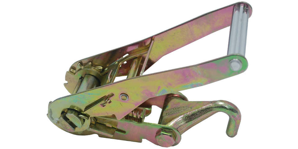 2'' Long Wide Ratchet Buckle with Drop Forged Finger Hook