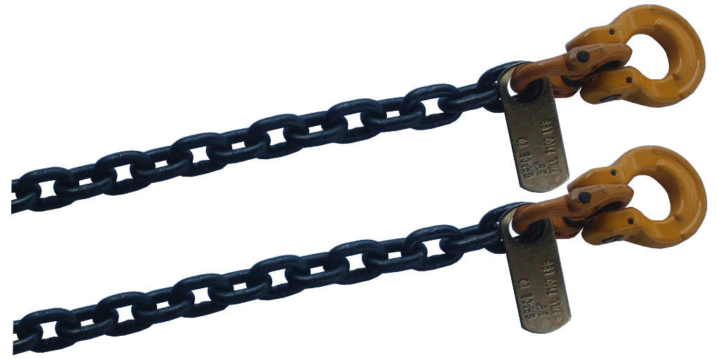 "3/8""  Gr80 Axle Chain w/ Omega Link - Sold in Pair & Free Shipping"