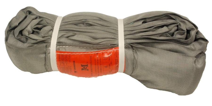Gray Polyester Round Slings 32,000 LBS