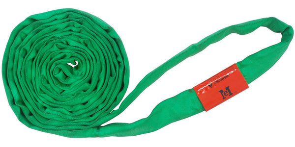 Green Polyester Round Slings 6,000 LBS