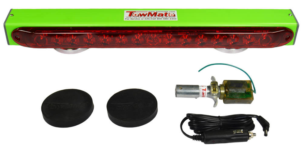 tm22 towmate lime green wireless tow light free usa shipping me