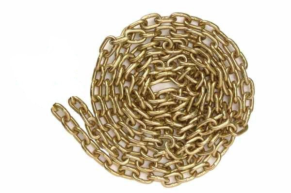 "3/8"" x 45' Binder Transport Chain Grade 70 No Hook"