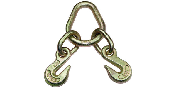 Towing Hooks Double Grab Hooks on Pear link Grade 70