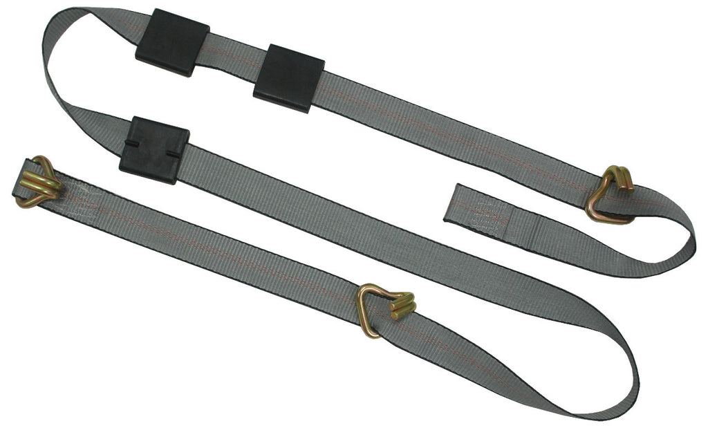 Car Carrier Strap with 3 Wire Hooks