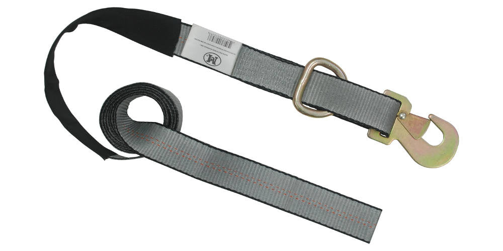 "2"" x 8' Tow Strap with Flat Snap Hook WLL 3333 LBS"
