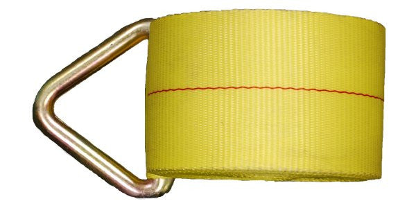 4''x27' Winch Straps with Delta Ring