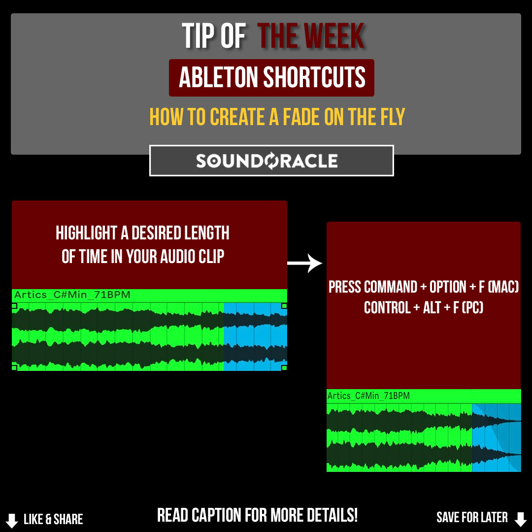 Production Tip of the Week #46