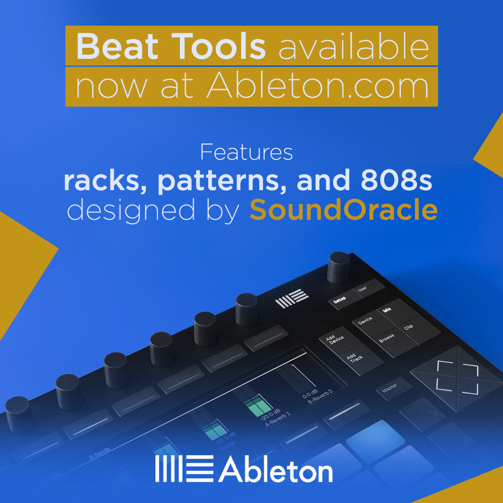 Ableton Releases New Beat Tools Pack