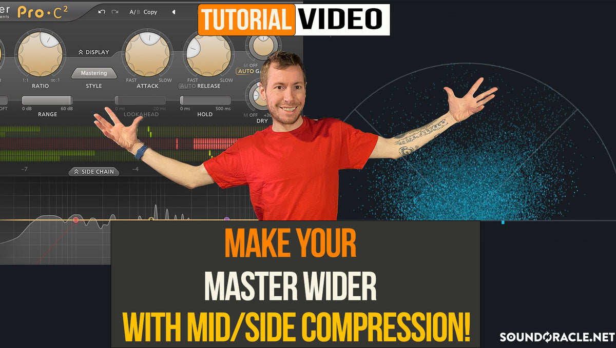 Make Your Master Wider With Mid/Side Compression!