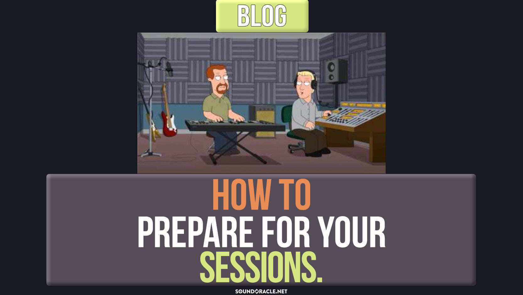 How To Prepare For Your Sessions!