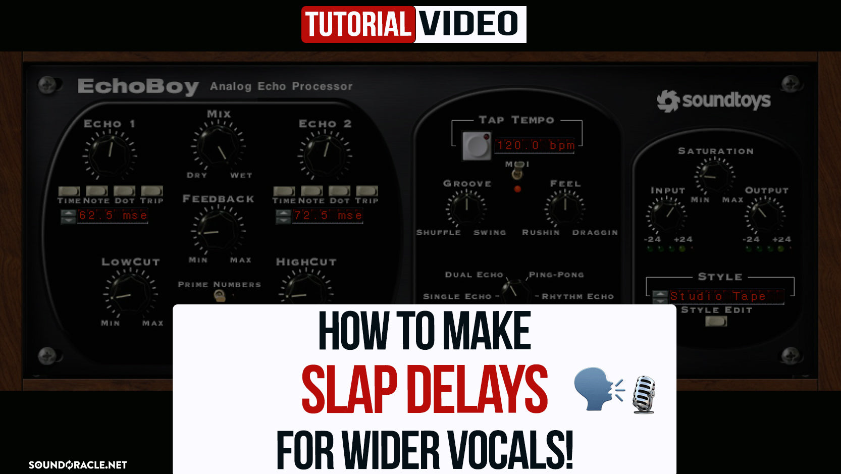 How To Make Slap Delays For Wider Vocals!