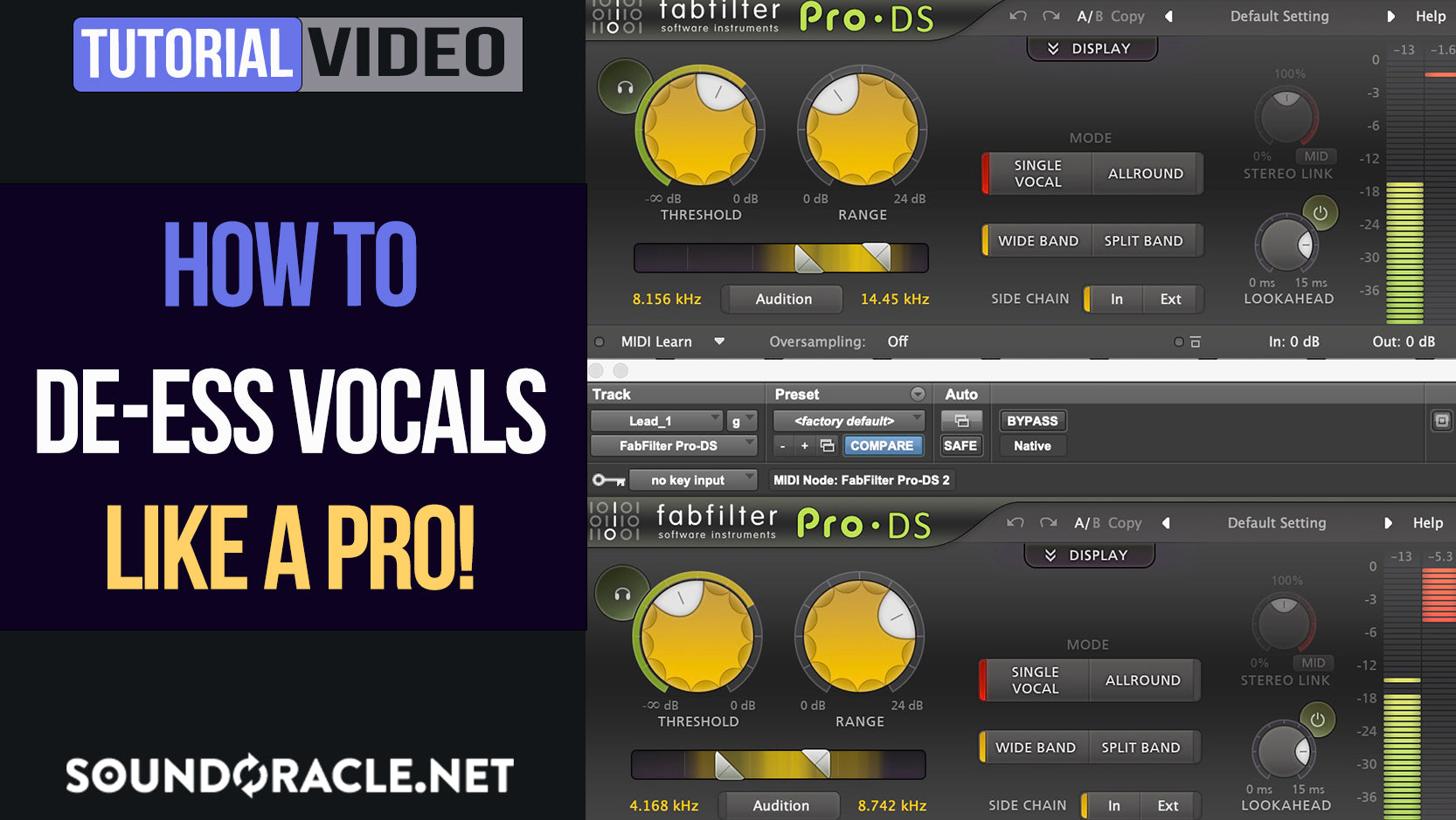 How To De-Ess Vocals Like A Pro!