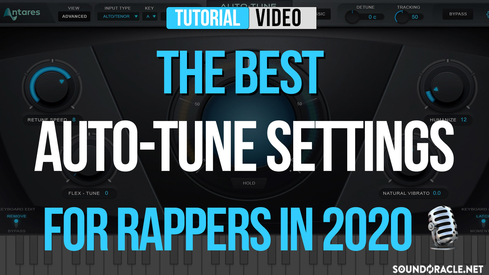 The Best Auto-Tune Settings For Rappers In 2020