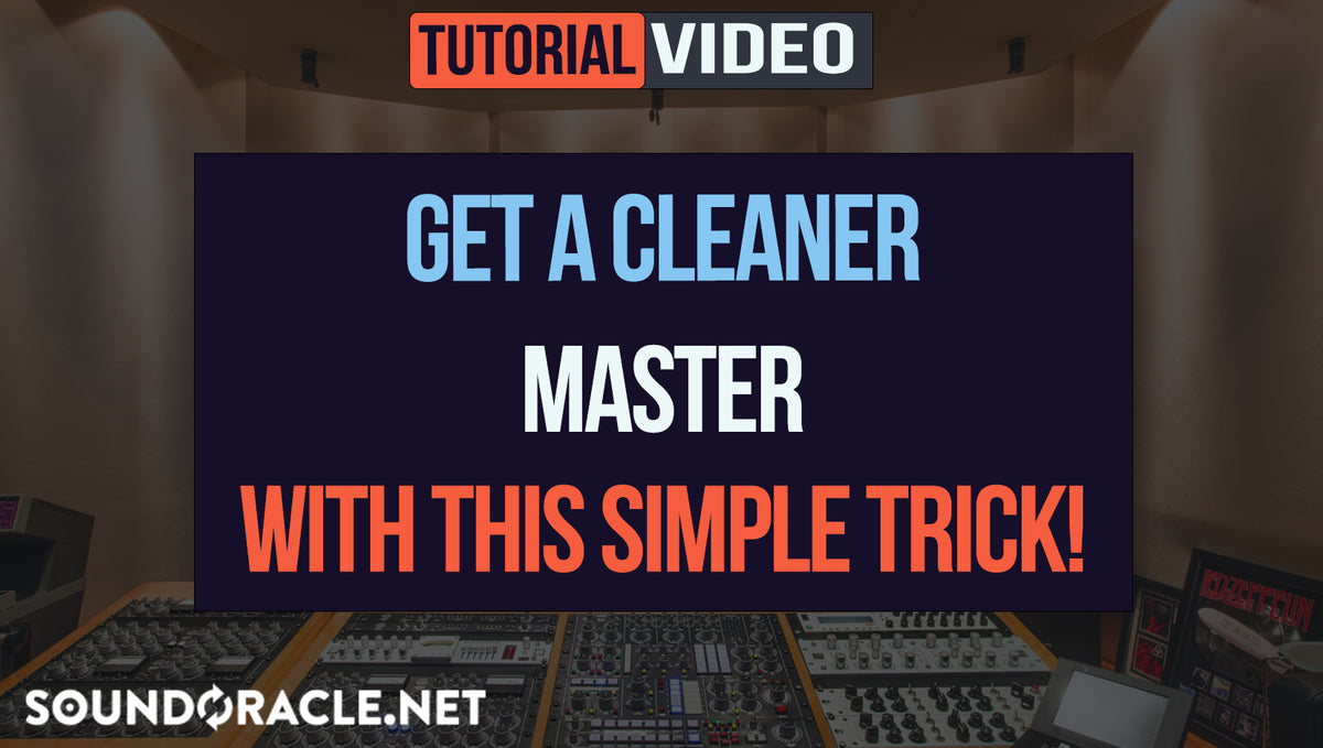 Get A Cleaner Master With This Simple Trick!