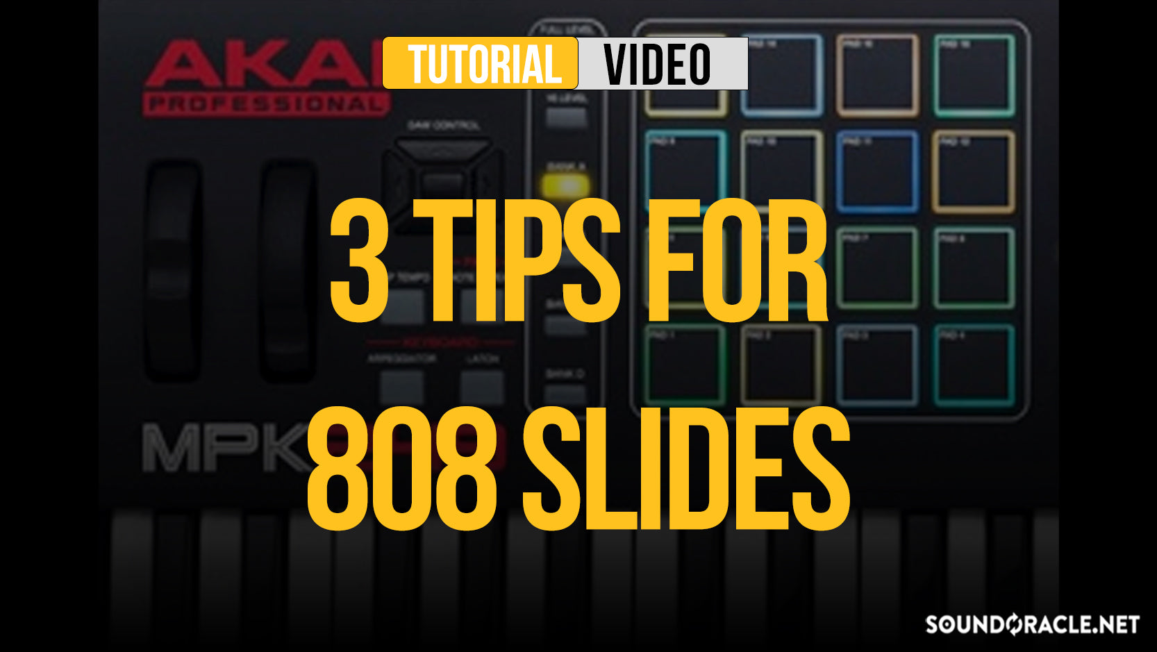 3 Tips For 808 Slides
