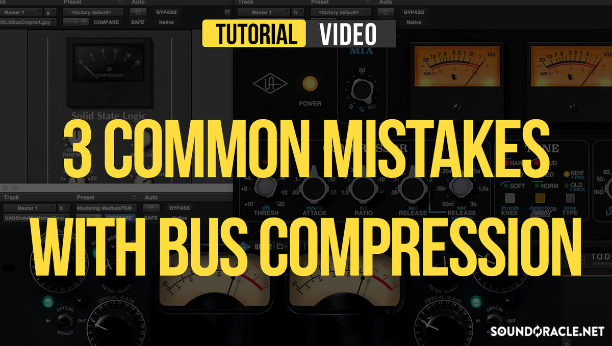 3 Common Mistakes With Bus Compressors
