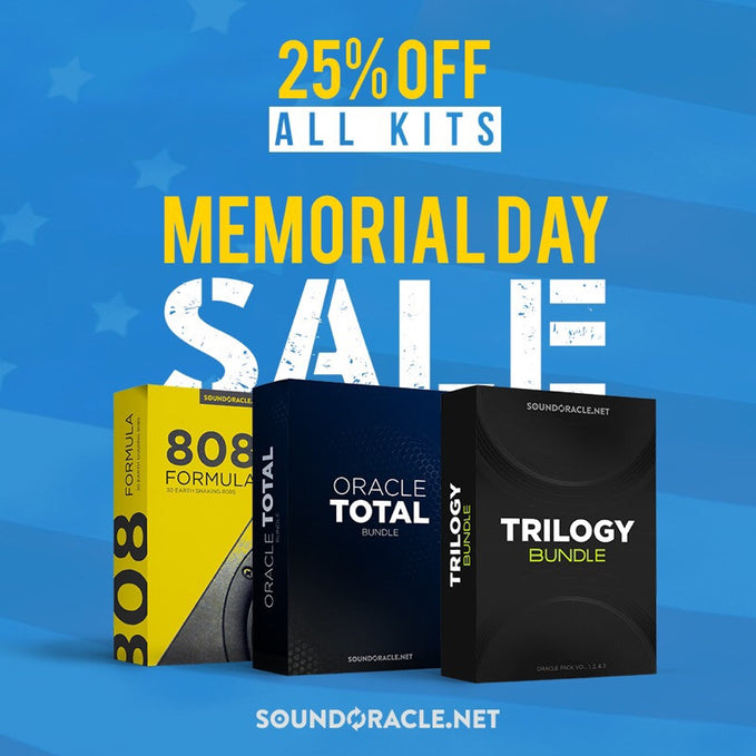 Memorial Day Sale - 25% Off All Kits And Bundles (May 25-29 At Midnight)
