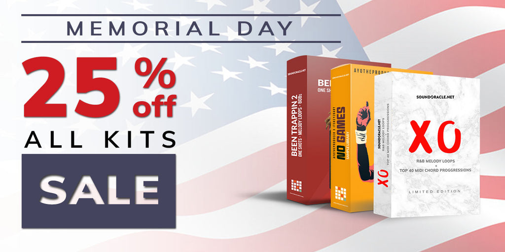 Memorial Day Sale 2018, Memorial Day Sales 2018, Memorial Day Sale, Memorial Day Promo, Memorial Day, Memorial Day Deals 2018, The Best Memorial Day Sales of 2018, 2018 Memorial Day Sales, Memorial Day Weekend Sales, SoundOracle Sound Kits