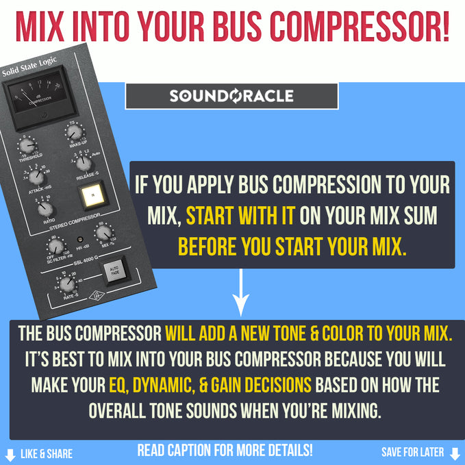 Mix Into Your Bus Compressor!