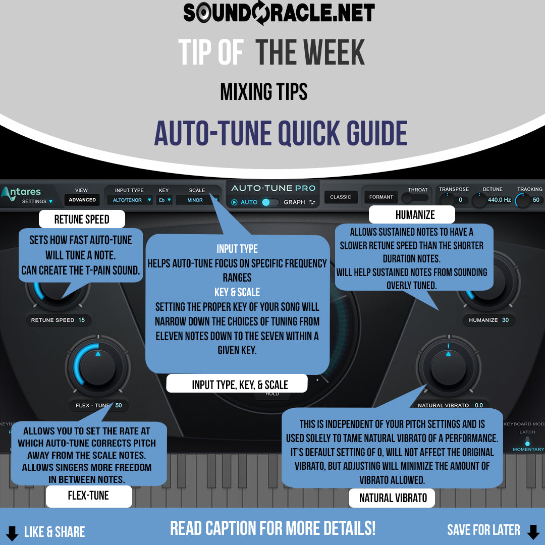 Auto-Tune Quick Guide: Mixing Tips