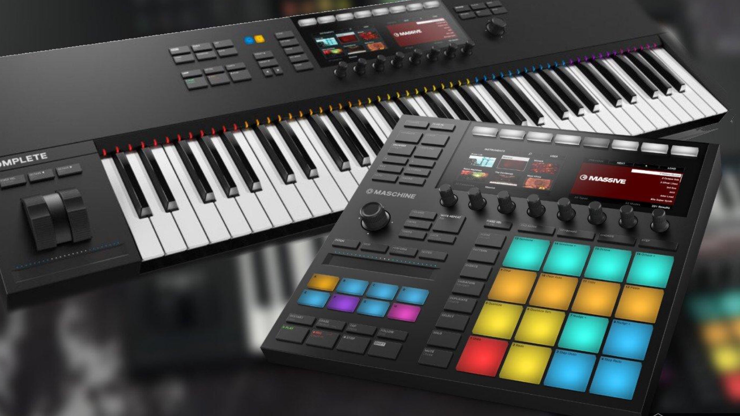 Native Instruments Announce 2 New Products - Maschine Mk3 and Komplete Kontrol MK2